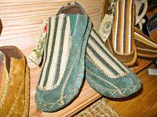きれいなステッチのおしゃれな靴